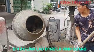 Technology Building . Building wall technology - Building houses. How to build houses in Vietnam.