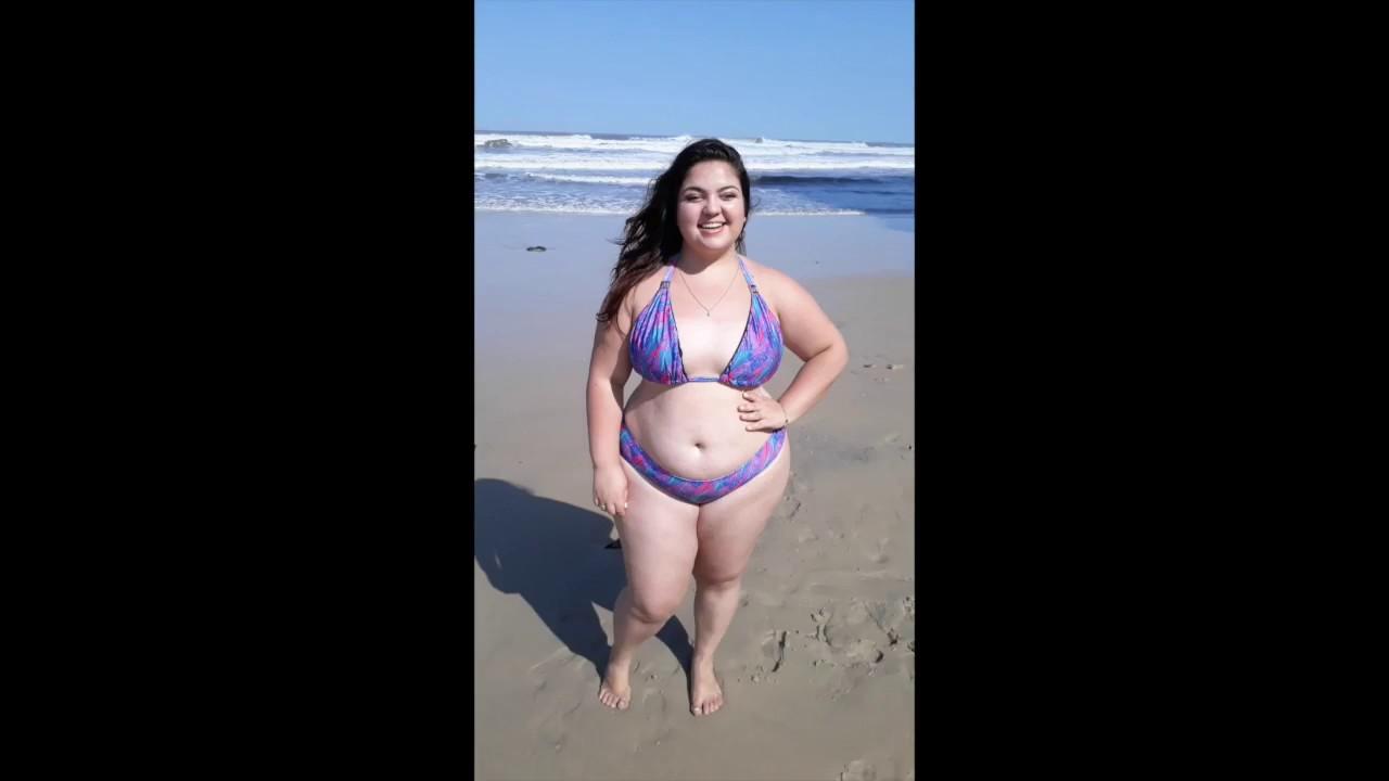 8f514a559 Feminina Plus Size | Biquíni Cortininha e Tanga Plus Size - YouTube