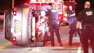 Raw: Accident at Richmond Road and Lincoln Avenue