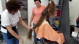 Волосы детские славянские 67см