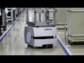 オムロンの搬送AIロボ 最適ルート探す の動画、YouTube動画。