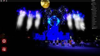 Zagrajmy w Roblox #70-Halloweenski pokaz fawerek!-Disneyland Wales || Dreamland Park