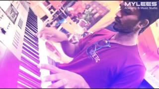 Thodu vaanam in keyboard by saravanan - mylees academy