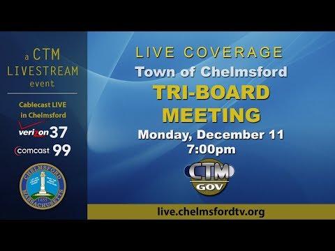 Chelmsford Tri-Board Meeting – December 11, 2017