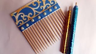 Handmade Slotted QuillingTool/ Handmade Quilling Comb/ DIY Quilling Accessories