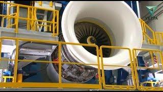 Как испытывают авиационные двигатели