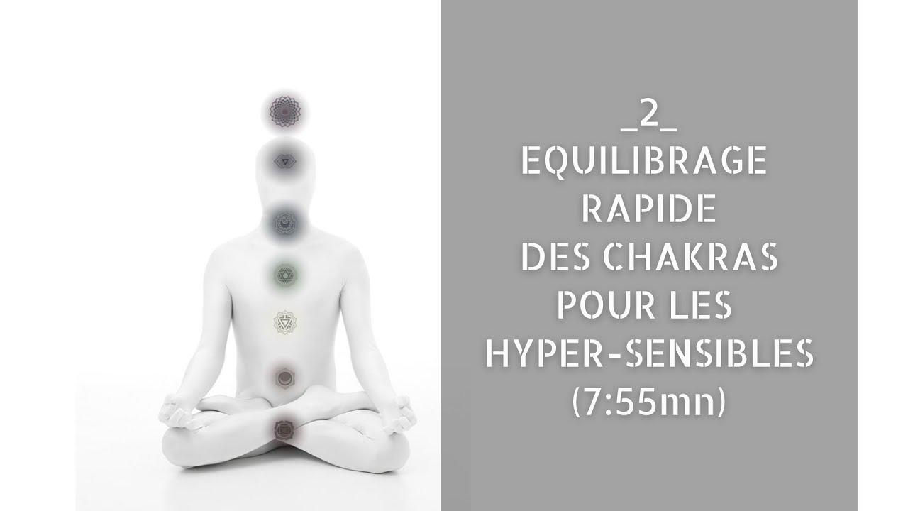 2_ (Fr) Équilibrage rapide des chakras pour les hyper-sensibles | Pendulum Healing (soin au pendule)