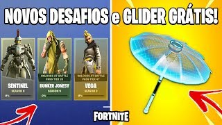 FORTNITE-GLIDER FREE, NEWS and FIRST LEAKS of the SEASON 9