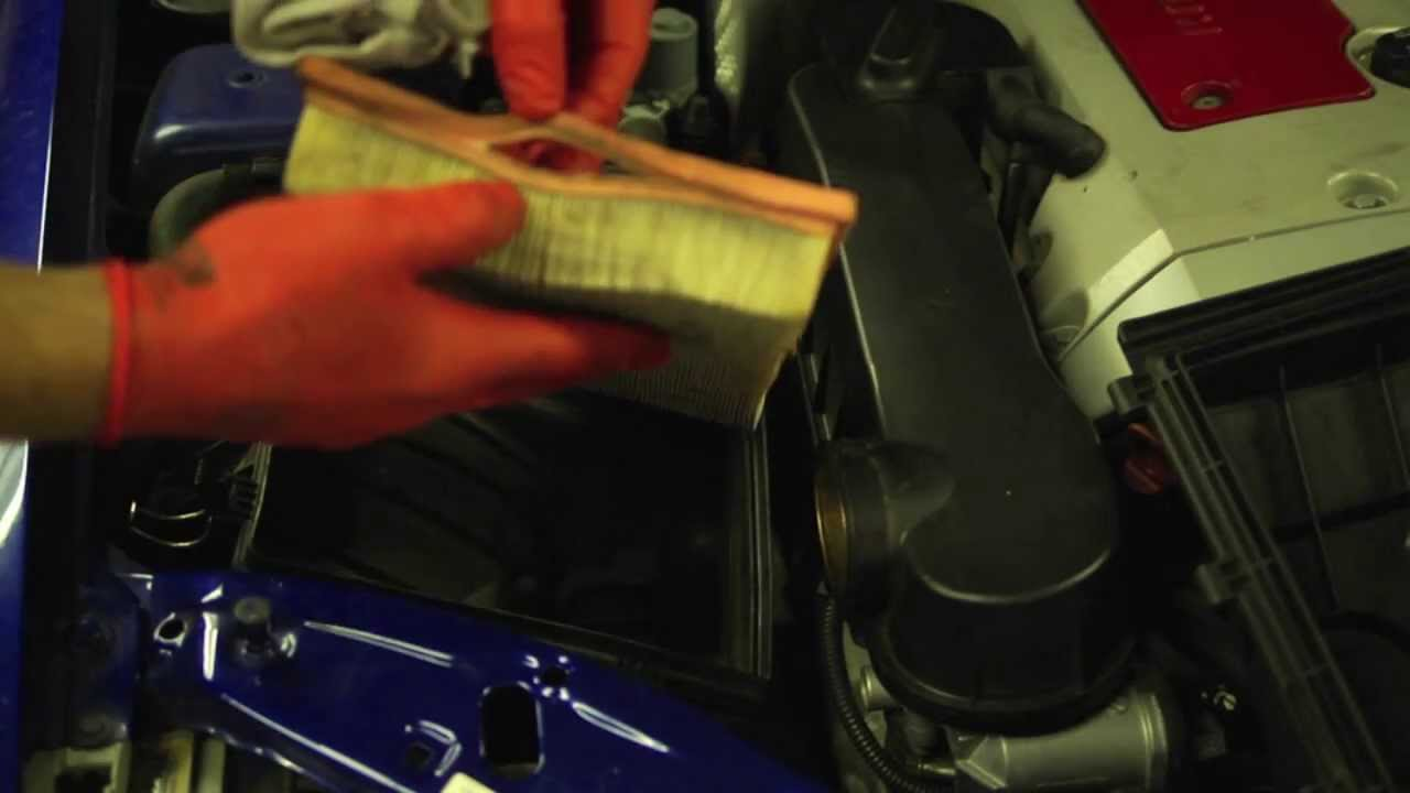 Change Air Filter >> Mercedes SLK Engine Air Filter - YouTube