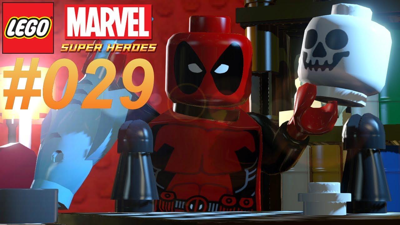 Deadpool 30 Superhéroes: LEGO MARVEL SUPER HEROES #029 Deadpool ★ Let's Play LEGO