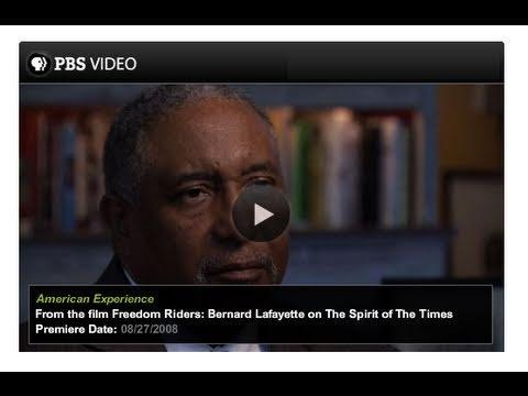 Bernard Lafeyette on  Conscience