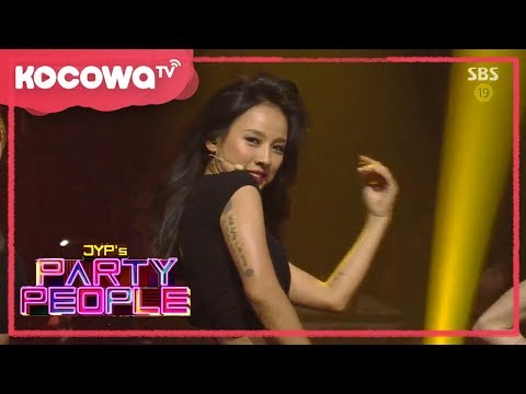 [JYP's Party People] Ep01_Hyori Vs. Miss A