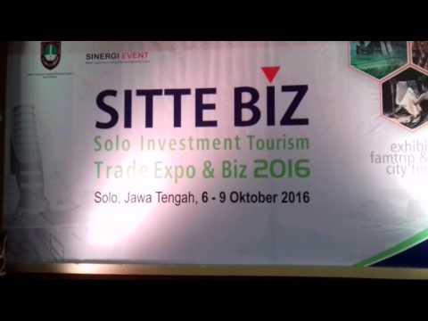 Begini Suasana Sinergi Event Sitte Biz Solo Investment Tourism Trade Expo & Biz 2016