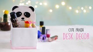 DIY Cute Panda Desk Decor | Room Decor | Ventunoart
