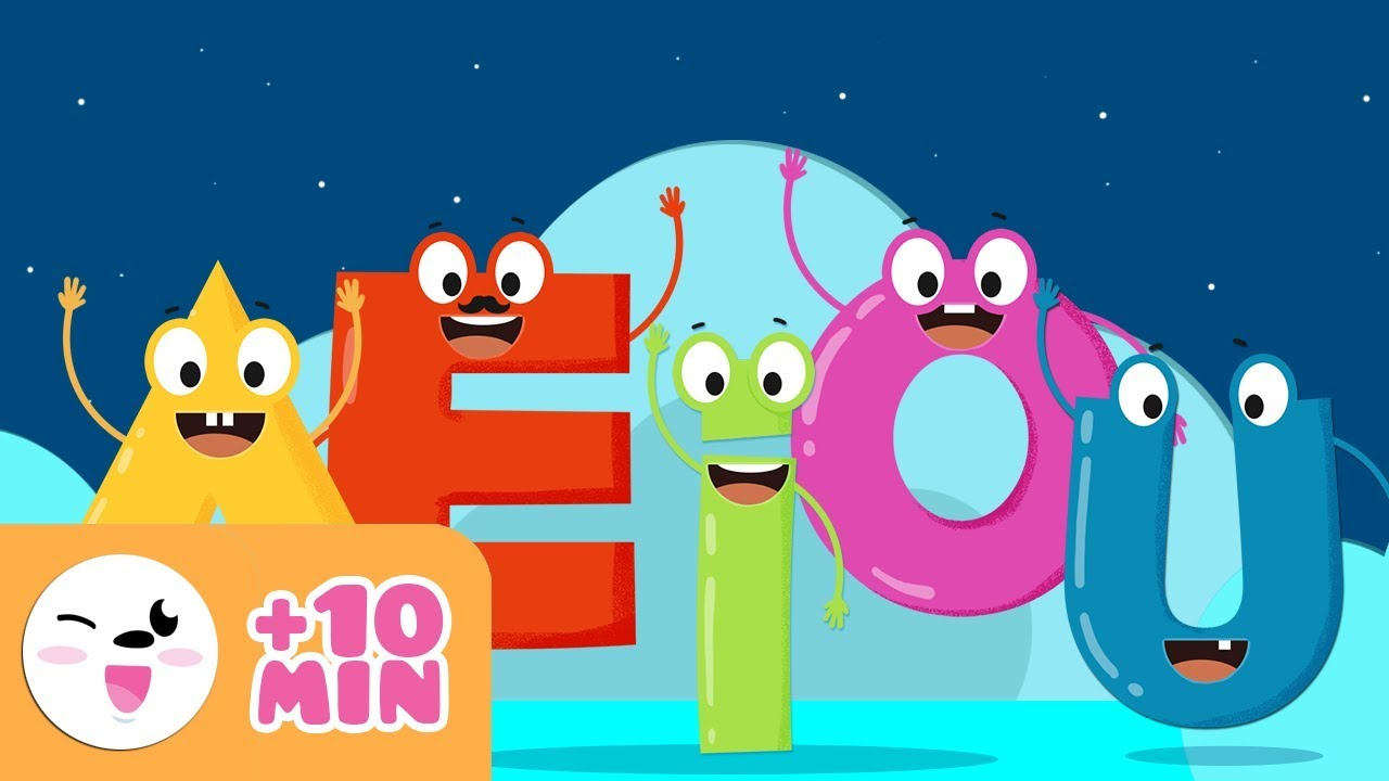 Download Vowels a e i o u - Educational video to learn the vowels