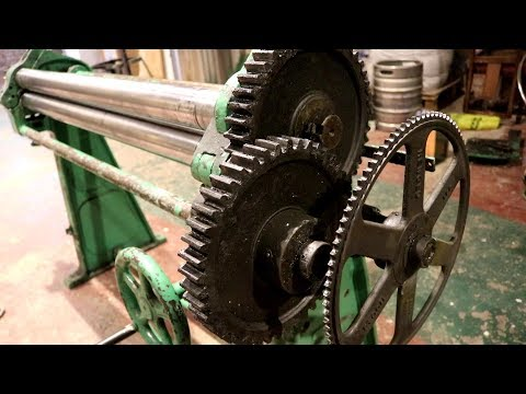 Sheet Metal Roller, Assembly & Repair