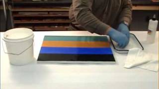 MSA Varnish Removal from a Smooth Acrylic Surface