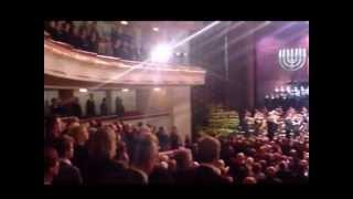 Warsaw Opera House on 70th Anniversary of Warsaw Ghetto Uprising