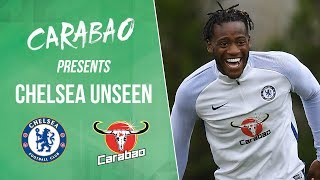 Batshuayi's worldie nutmeg, cesc and marcos do the tango & luiz steals the crown | chelsea unseen