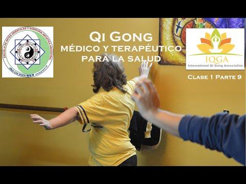 Clase 1 parte 9 | Ejercicios de elongación, calentamiento y estiramiento en Qi Gong y Tai Chi Kung