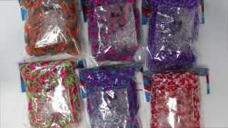 NEW Rainbow Loom Tie-Dye Bands Overview & Haul