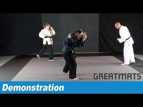 Pro MMA Mats 1x2 Meter Smooth 2 Inch  - Judo, Jiu-Jitsu and More!