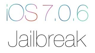 Como poner Jailbreak a tu iPhone/iPod/iPad 7.0.6
