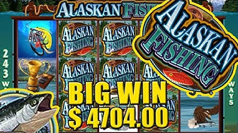 Alaskan Fishing Slot BIG WIN!! $4704.00