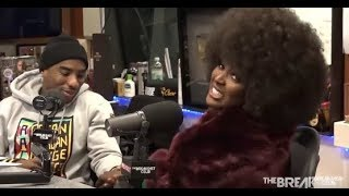 """Amara La Negra gets in to it with Charlamagne after he asked her If Colorism was """"In Her Head"""""""
