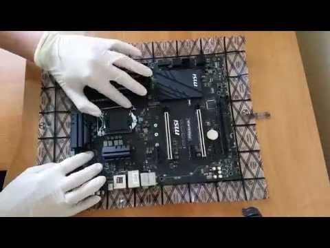 MSI Z170A SLI PLUS, Intel I5 6600K, HyperX2x8GB DDR4, Fortis III Malik Edition