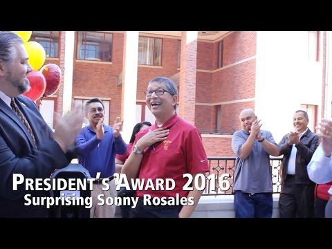 President's Award 2016 - Surprising Sonny