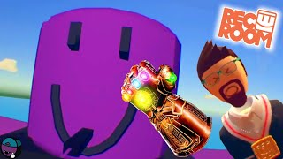Defeating Roblox Thanos in Rec Room (PSVR)