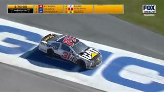Monster Energy NASCAR Cup Series 2017. Talladega Superspeedway. Ryan Newman Crash