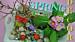 Spring easy decoration full of nature