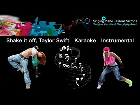 Shake it off, Taylor Swift Karaoke Instrumental with ...