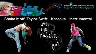 Shake it off, Taylor Swift Karaoke Instrumental with Lyrics