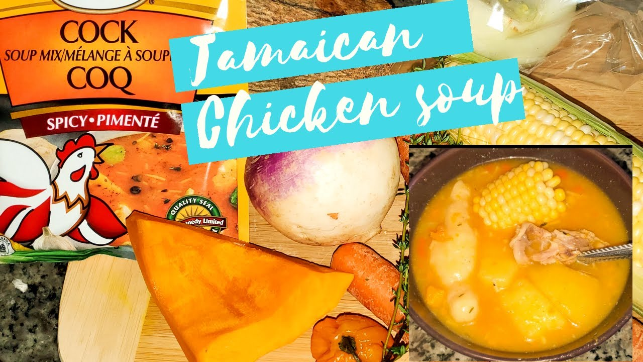 jamaican chicken foot soup i how to make it quick and easy