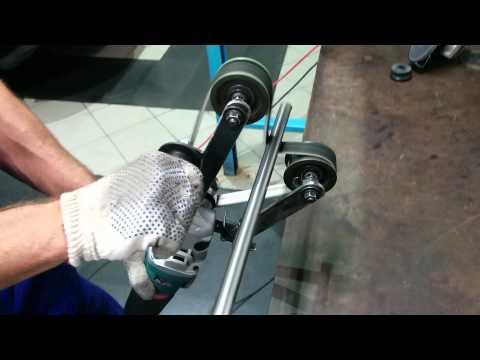 Самодельная насадка для шлифовки и полировки труб на УШМ