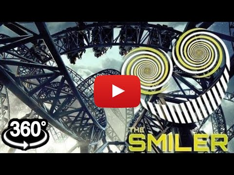 VR 360 VIDEO The Smiler Roller Coaster Simulation