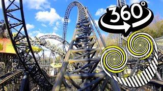 The Smiler 360 VR Roller Coaster Recreation 4K