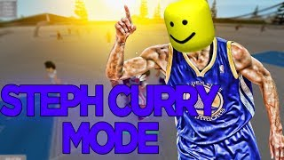 When Steph Curry Plays RB WORLD 2 in Roblox | iBeMaine