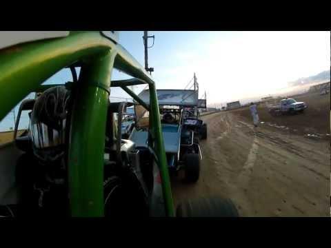 Sidewinder Sprint Feature Race On-Board 6/16/21012 Trail-Way Speedway