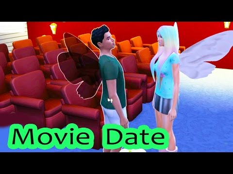 Movie Date ! Fairy Fantasy FairyTale Part 5 SIMS 4 Game Let's Play Video Series