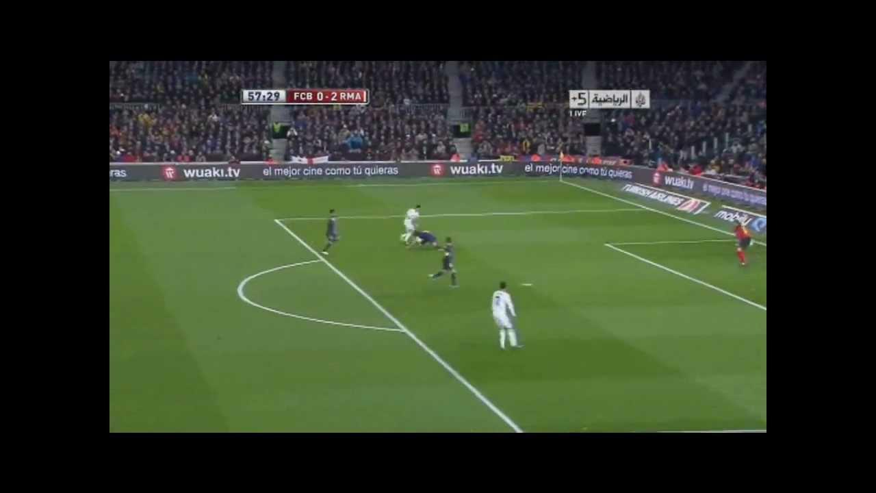 Di Maria humiliation Puyol Barcelona 1-3 Real Madrid