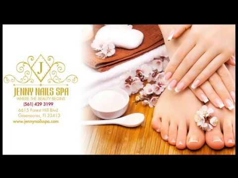Jenny Nails Spa - Nail Salon 33413 - Greenacres, Florida. #nailsalon, #jennynailsspa, #nailsalons.