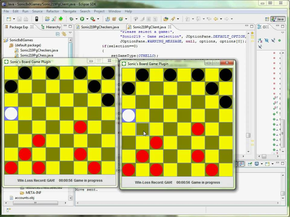 Board Game Framework - CSE219 Java Project