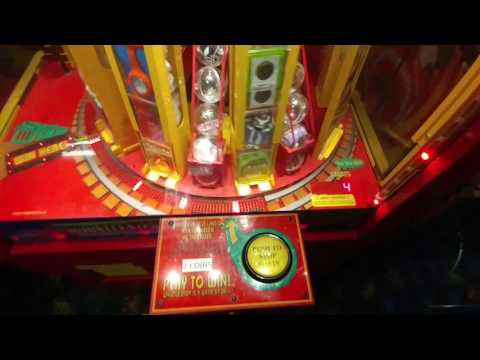 Gold Dollar Coin & Buffalo Nickel $$$$$$$ WIN on Whistle Stop Arcade Game :)