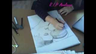 Drawing Justin Bieber & Avalanna