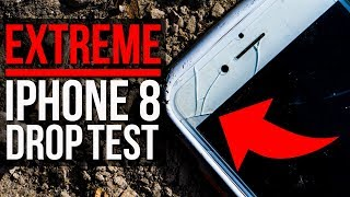 EXTREME iPhone 8 Drop Tests + Hammer SMASH! - RhinoShield Mod Case for iPhone 7/8 - Review