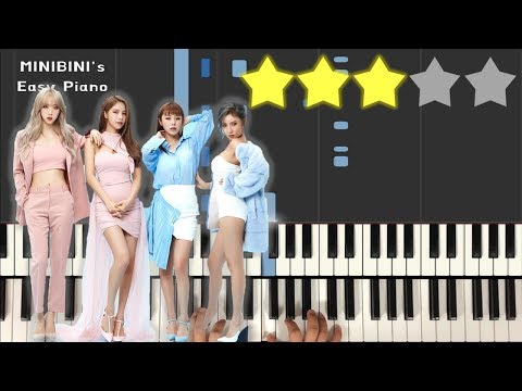 MAMAMOO (마마무) - Wind Flower 《MINIBINI EASY PIANO ♪》 ★★★☆☆